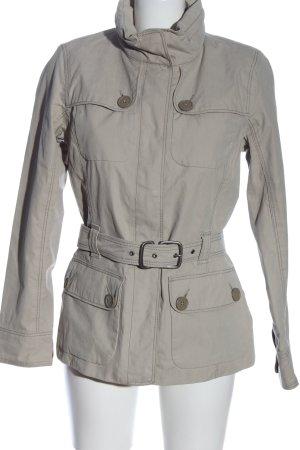 Aigle Between-Seasons Jacket light grey casual look
