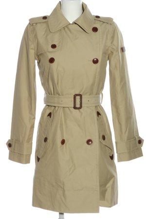 Aigle Płaszcz przejściowy w kolorze białej wełny W stylu casual