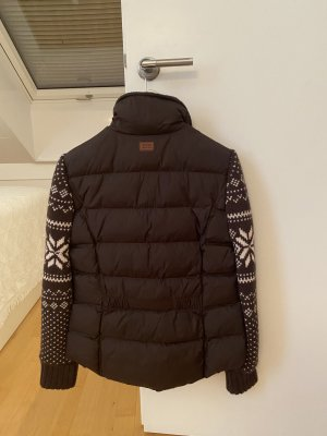 Aigle Winter Jacket brown polyester