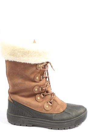 Aigle Buty zimowe brązowy-czarny W stylu casual