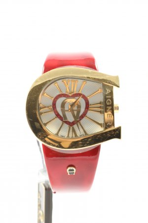 Aigner Analog Watch red-gold-colored casual look