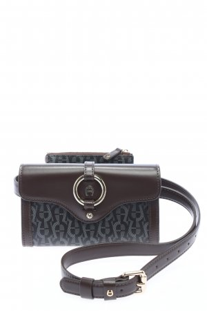Aigner Bumbag allover print casual look