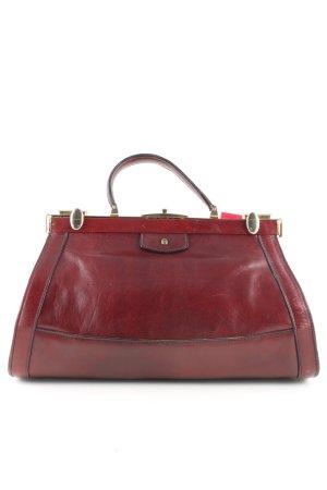 Aigner Beugeltas rood zakelijke stijl
