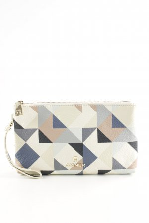 Aigner Clutch allover print business style