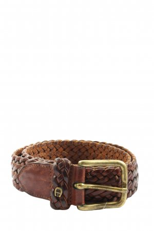 Aigner Cinturón trenzado marrón look casual