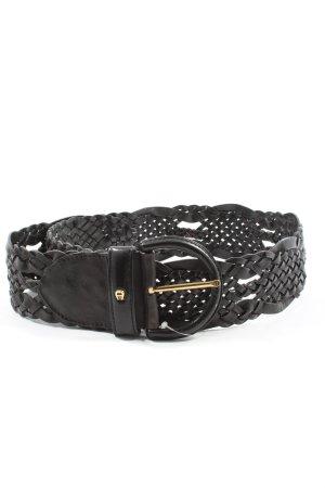Aigner Cintura intrecciata nero stile casual