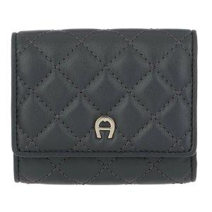 Aigner Wallet anthracite-dark grey leather