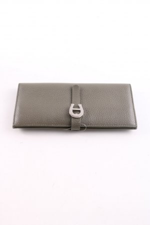 Aigner Wallet silver-colored business style