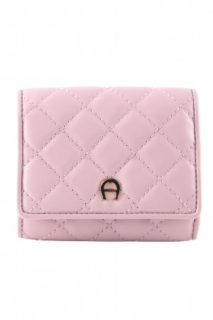 Aigner Geldbörse pink Steppmuster Casual-Look