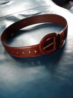 Aigner Leather Belt brown leather