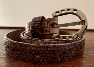 Aigner Leather Belt multicolored leather