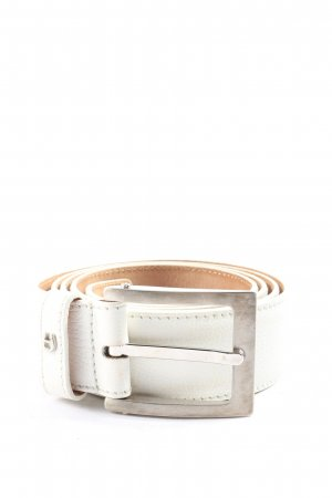 Aigner Belt Buckle white casual look