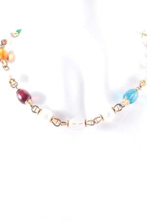Aigner Halskette goldfarben extravaganter Stil