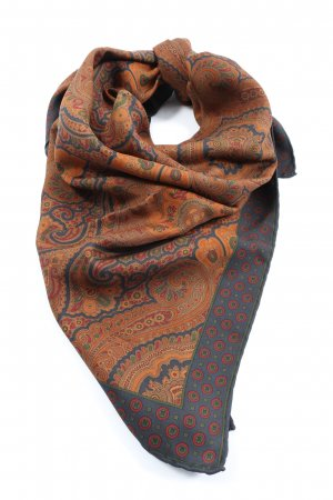 Aigner Neckerchief abstract pattern casual look