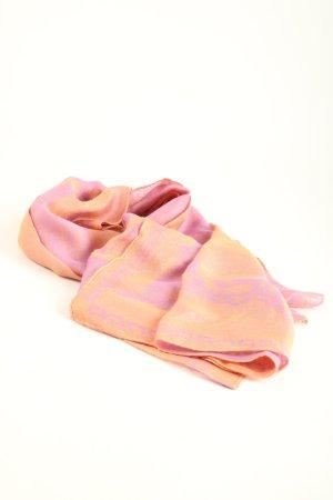 Aigner Fazzoletto da collo arancione chiaro-rosa stile casual