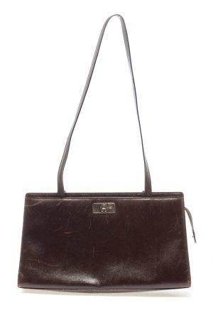 Aigner Handtasche braun Motivdruck Casual-Look