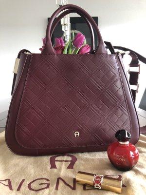 Aigner Handtasche Bordeaux