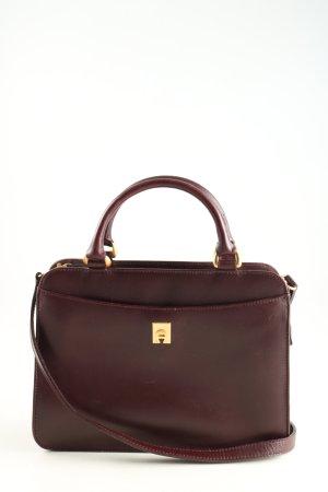 Aigner Handtasche braun Business-Look