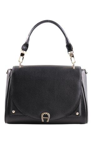 Aigner Handtasche schwarz Business-Look