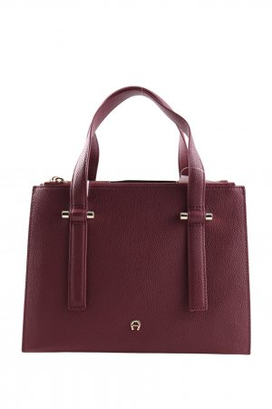 Aigner Handbag red business style