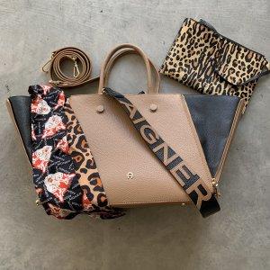 Aigner Handbag camel-black