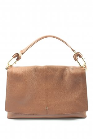 Aigner Carry Bag brown themed print casual look