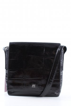Aigner Bolso barrel negro look casual