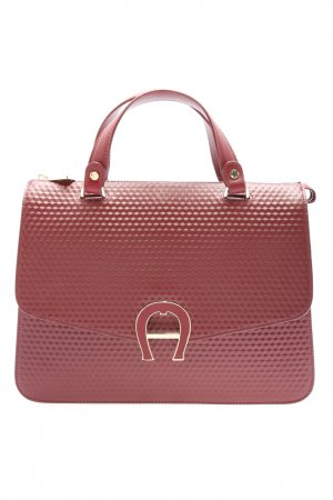 Aigner Henkeltasche rot Business-Look