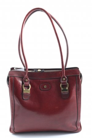 Aigner Carry Bag red themed print casual look