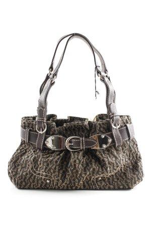 Aigner Carry Bag black-gold-colored allover print elegant
