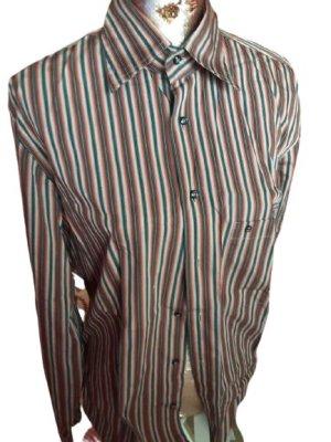 Aigner Long Sleeve Shirt multicolored cotton