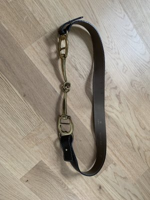 Aigner horsebit gürtel braun, Designer