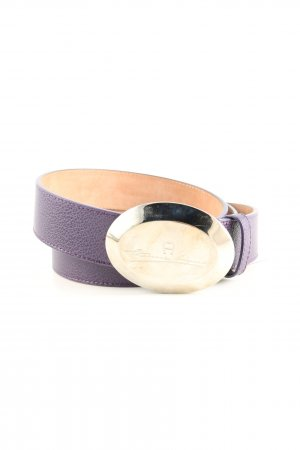 Aigner Hip Belt lilac casual look