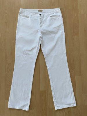 Aigner Jeans met rechte pijpen wit