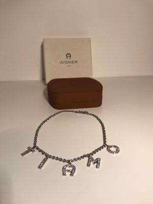 Aigner Link Chain silver-colored-white