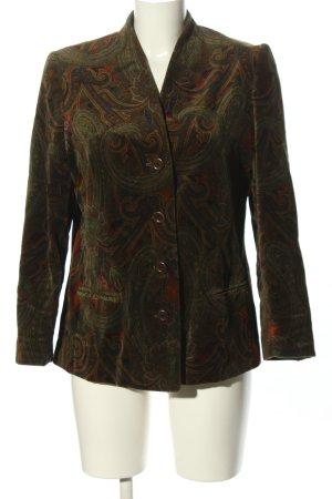 Aigner Short Blazer bronze-colored-khaki allover print elegant
