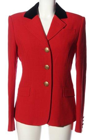 Aigner Short Blazer red-black business style