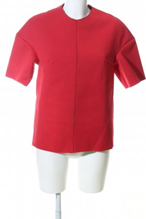 Aigner Kurzarm-Bluse rot Casual-Look