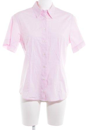 Aigner Short Sleeve Shirt light pink-pink classic style