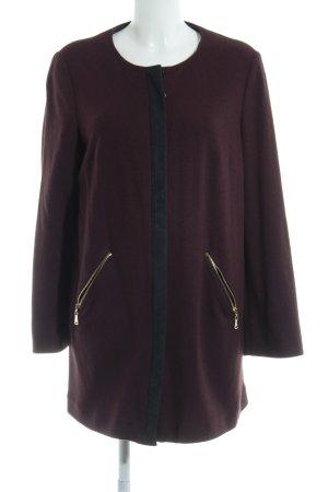 Aigner Short Coat bordeaux-black extravagant style