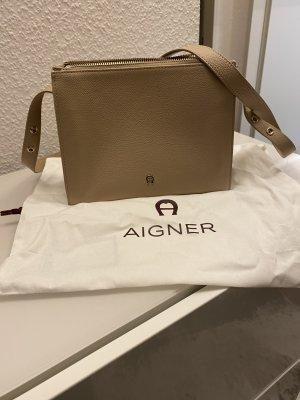 Aigner Lana S Crossbody Bag Nougat