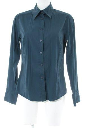 Aigner Langarmhemd dunkelblau Business-Look