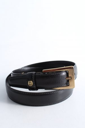 Aigner Leather Belt black business style
