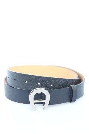 """Aigner Cintura di pelle """"Cybill Belt"""" blu"""