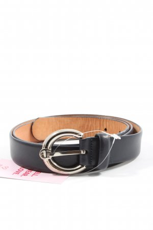 Aigner Leather Belt black casual look