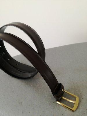 Aigner Leather Belt dark brown