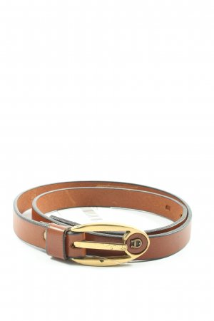 Aigner Faux Leather Belt brown casual look