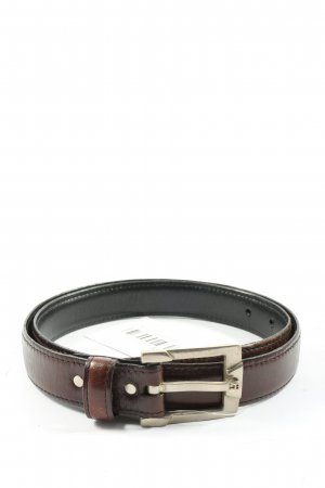 Aigner Faux Leather Belt brown business style