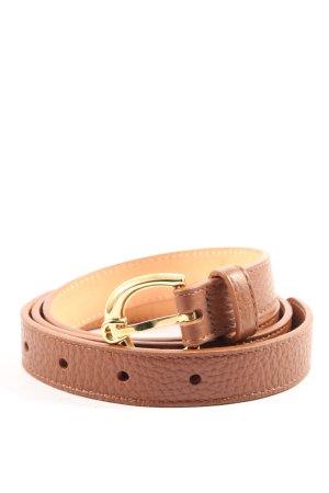Aigner Cintura in ecopelle marrone stile casual