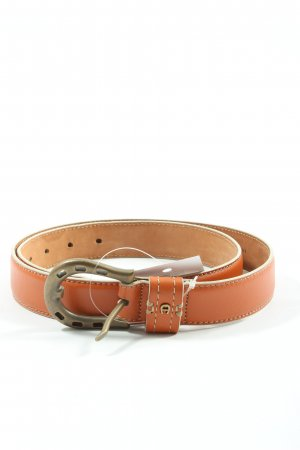 Aigner Faux Leather Belt brown-light orange casual look